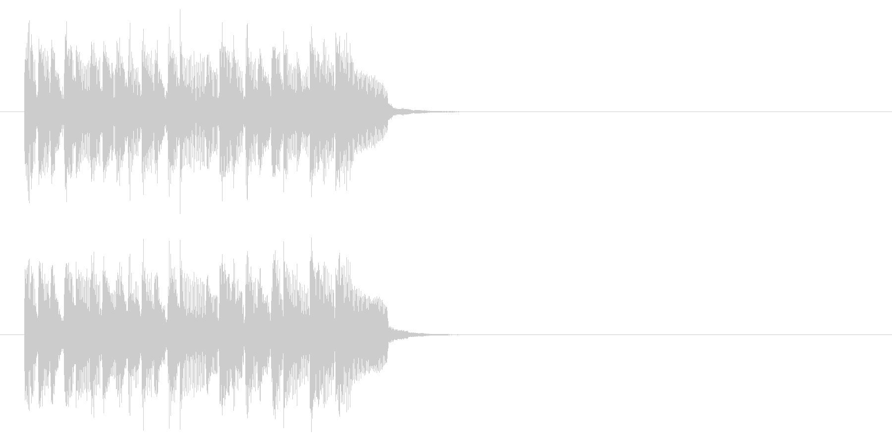 ジングル(ラテン)の未再生の波形