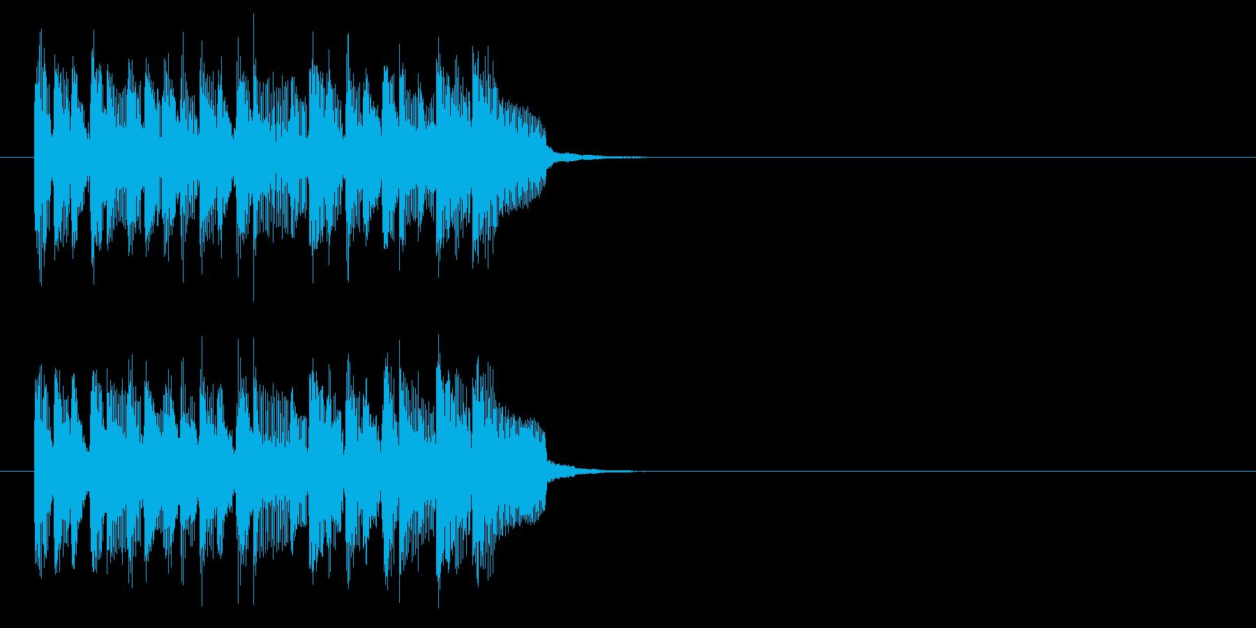 ジングル(ラテン)の再生済みの波形