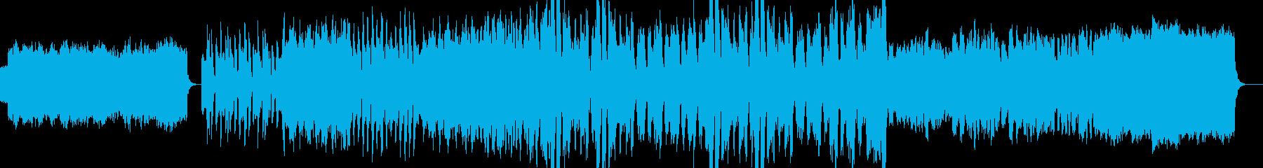 民族的・重い・憂鬱なゲーム音楽の再生済みの波形