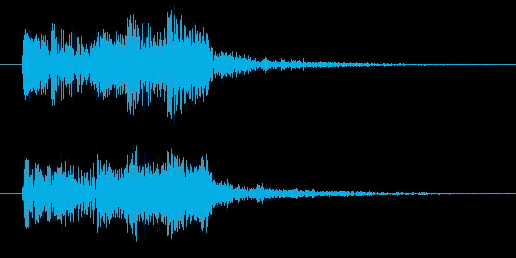 ドゥリリリの再生済みの波形