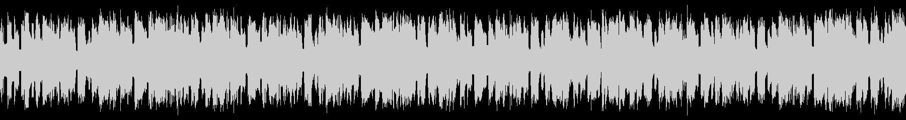 テクノ ループ かっこいい系の未再生の波形