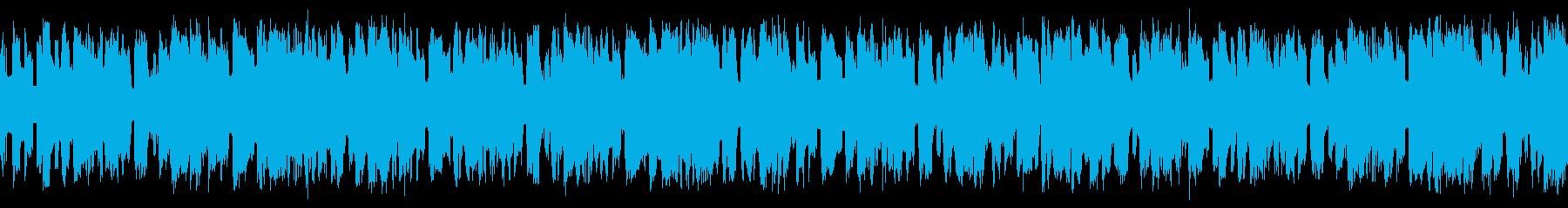 テクノ ループ かっこいい系の再生済みの波形