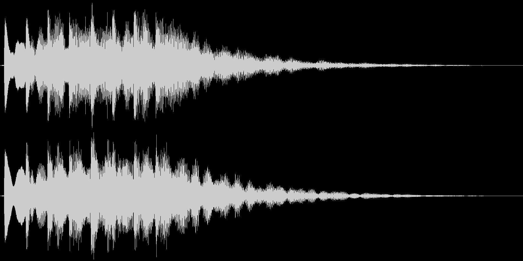 キラキラ系(爽やか)の未再生の波形