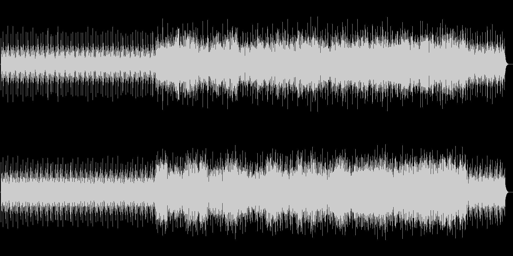透明感のある鉄琴サウンドの未再生の波形