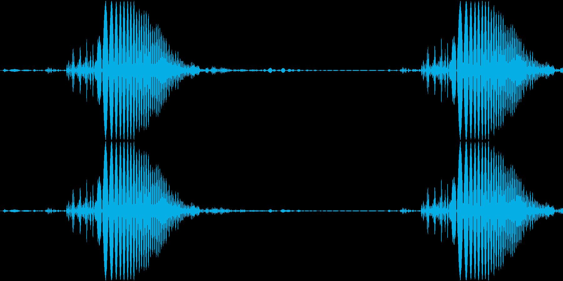 Acid ビチャっとしたキャンセル音の再生済みの波形