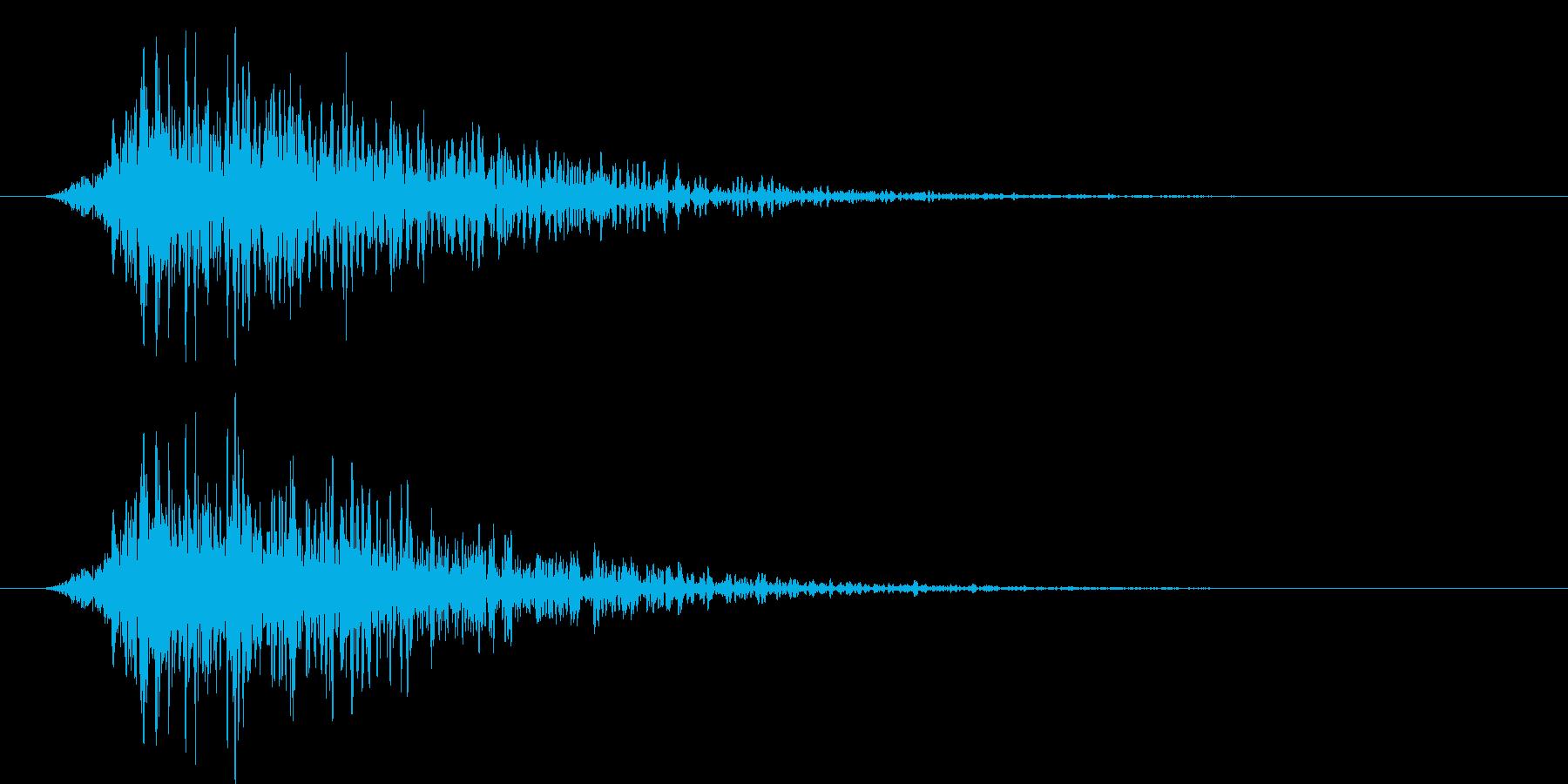 175_通り過ぎる9の再生済みの波形