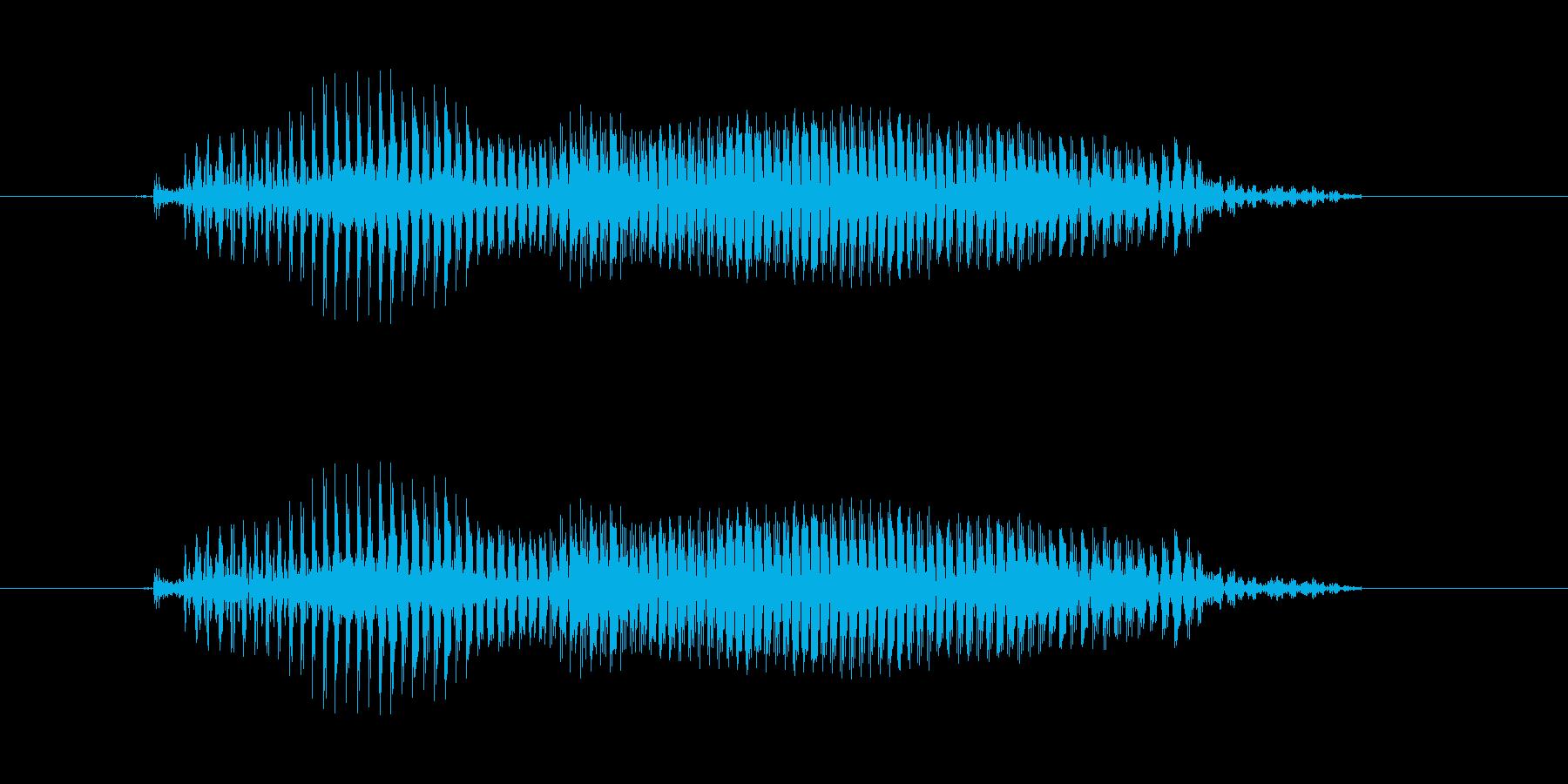 【子供の戦闘ボイス】とう!(中攻撃)の再生済みの波形