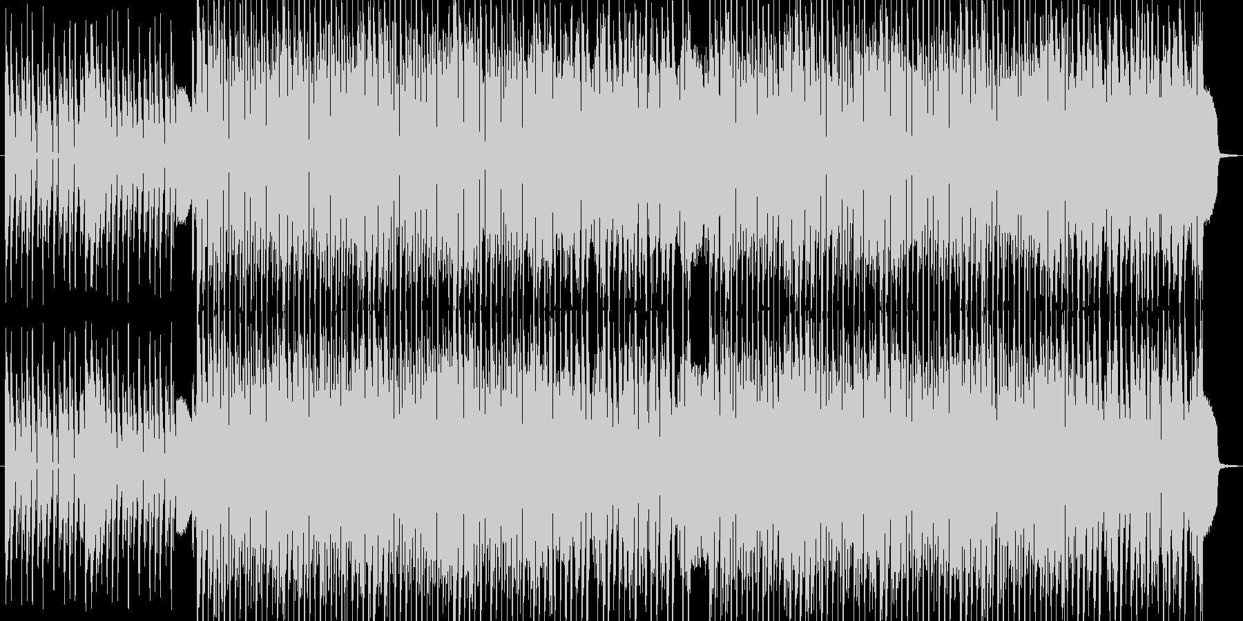 エッジ少なめなダブステップBGMの未再生の波形