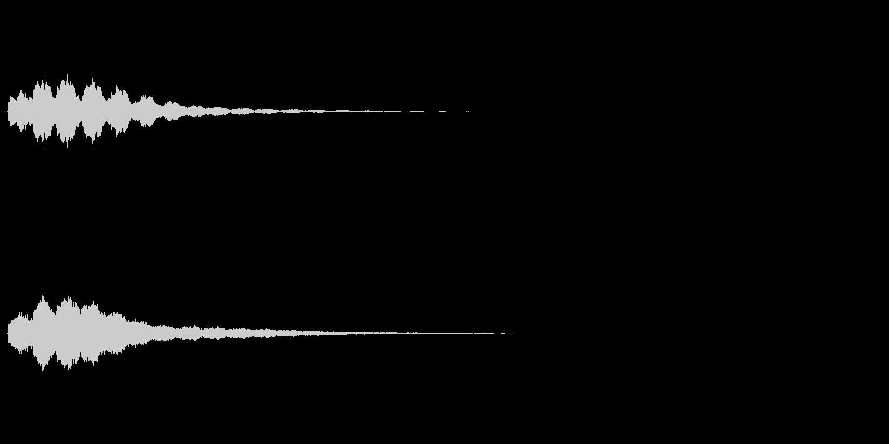 キラキラーン(回想前、振り返り、気付き)の未再生の波形