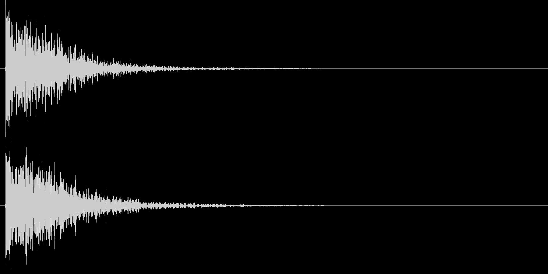 タッチ Kicki-3 (ドウーン)の未再生の波形