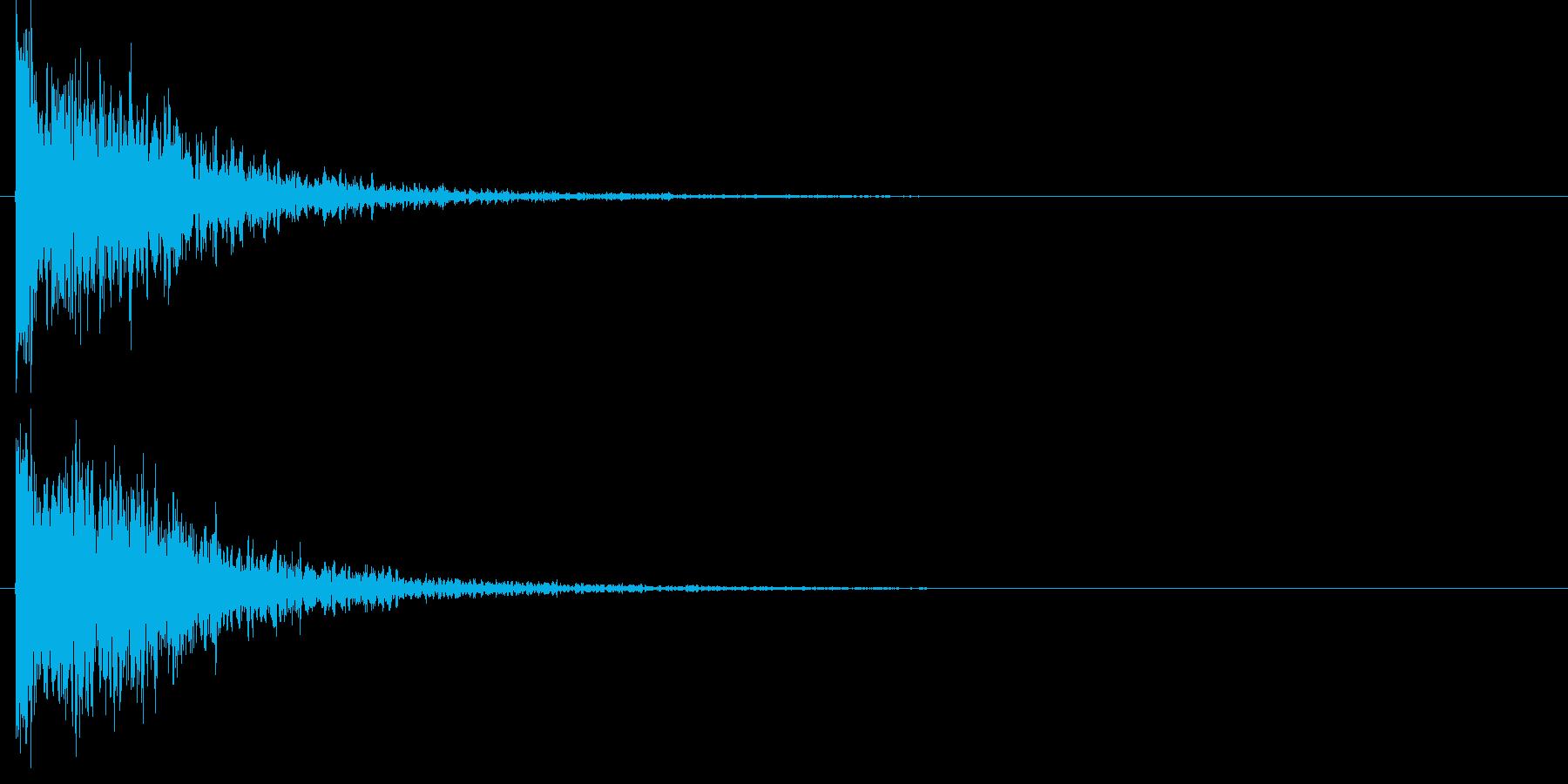 タッチ Kicki-3 (ドウーン)の再生済みの波形