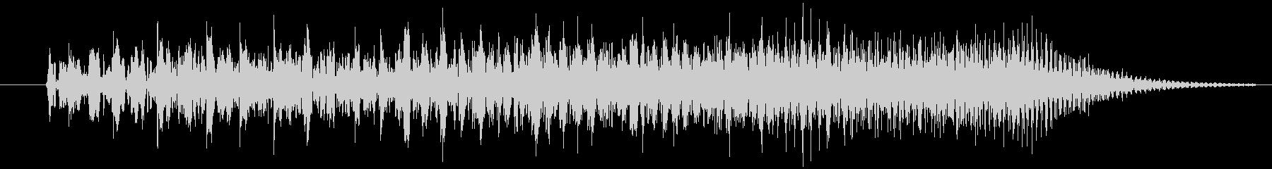 クイズ出題音2の未再生の波形