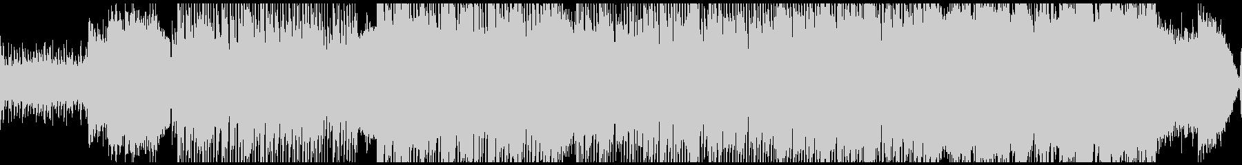 賑やかなオリエンタル曲(ループ)の未再生の波形