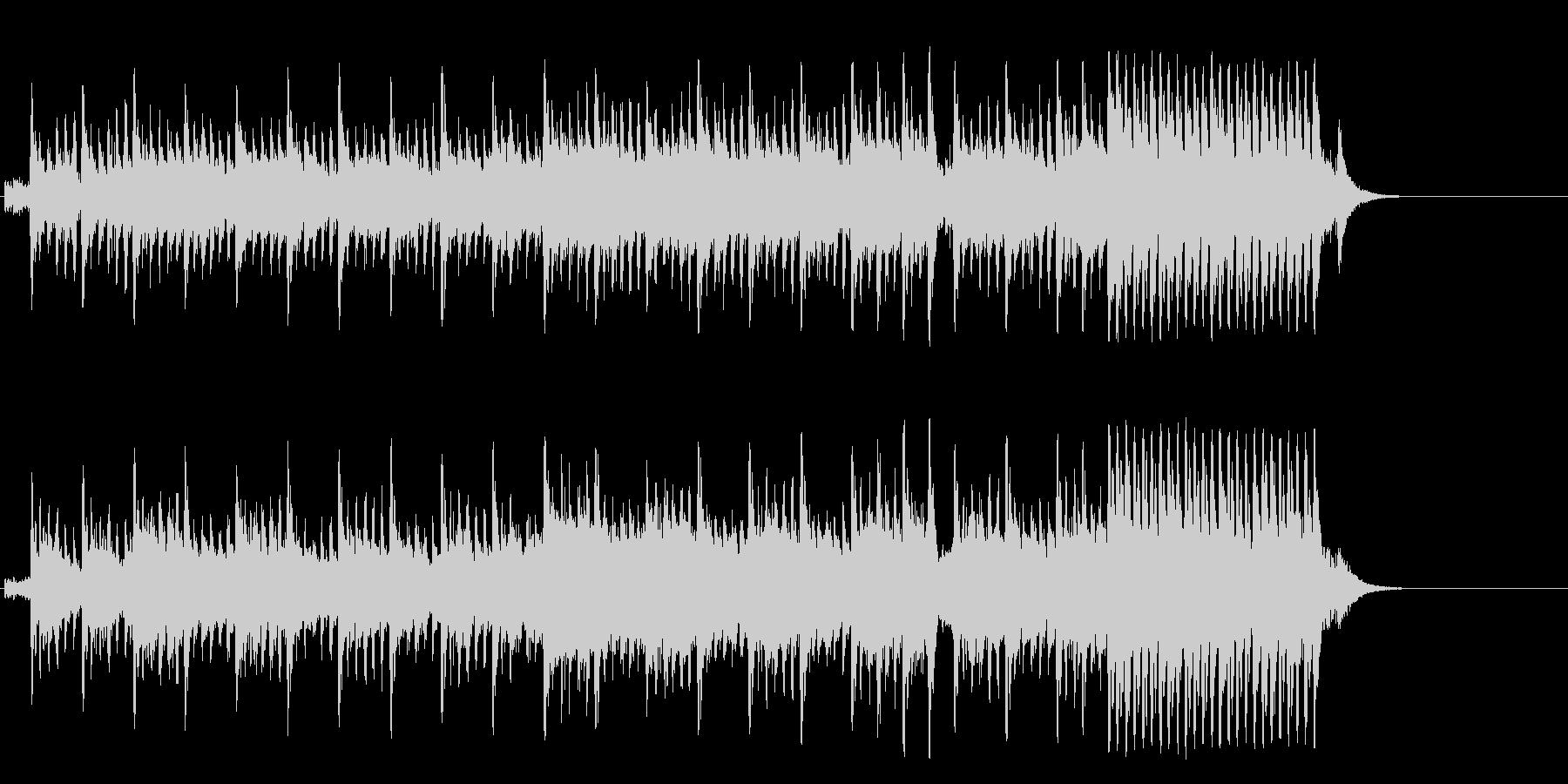 メリーゴーランドの様に夢溢れるポップの未再生の波形