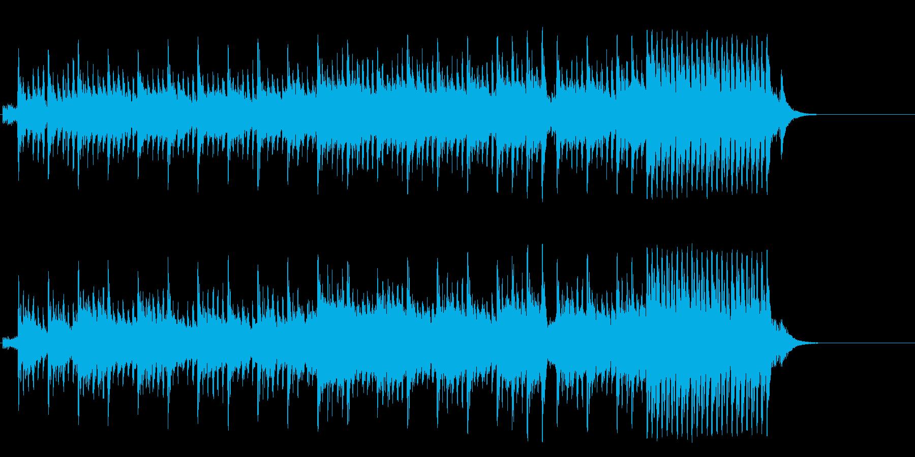 メリーゴーランドの様に夢溢れるポップの再生済みの波形