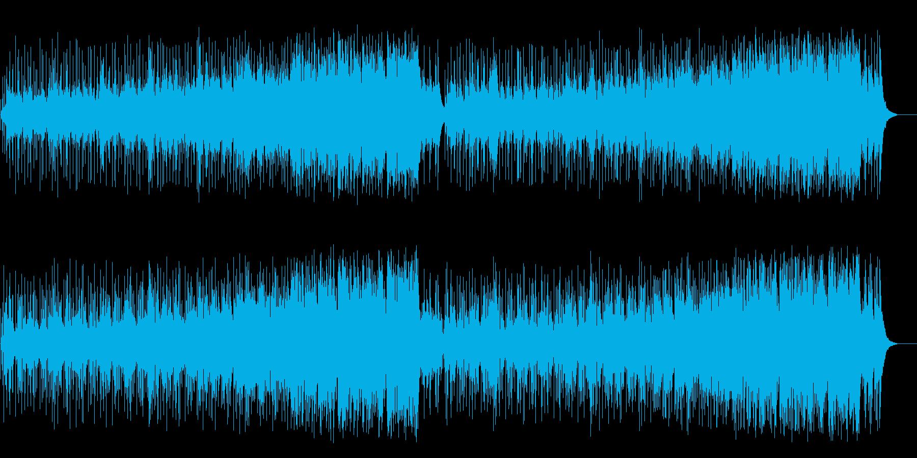 しっとりとした大人のムードのフュージョンの再生済みの波形