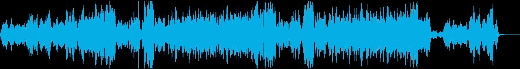 感動映像のための弦楽四重奏クラシックの再生済みの波形