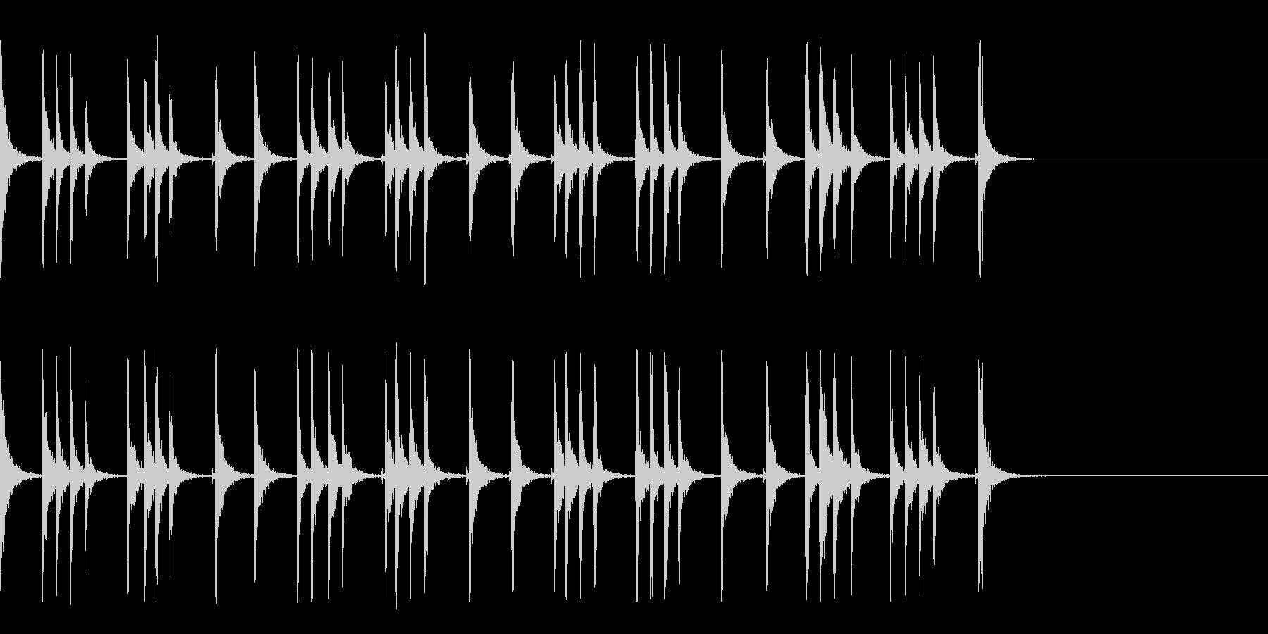カスタネット!フラメンコフレーズ2の未再生の波形