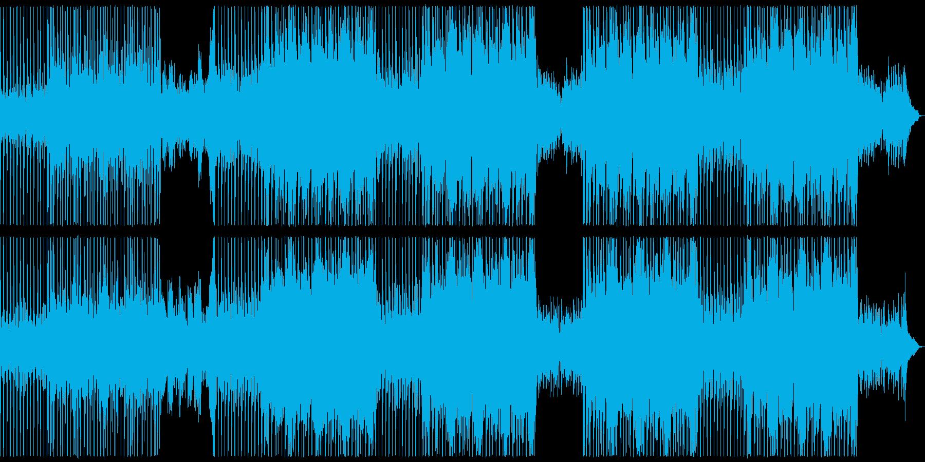 【メロディ抜き】爽やかでおしとやかなう…の再生済みの波形