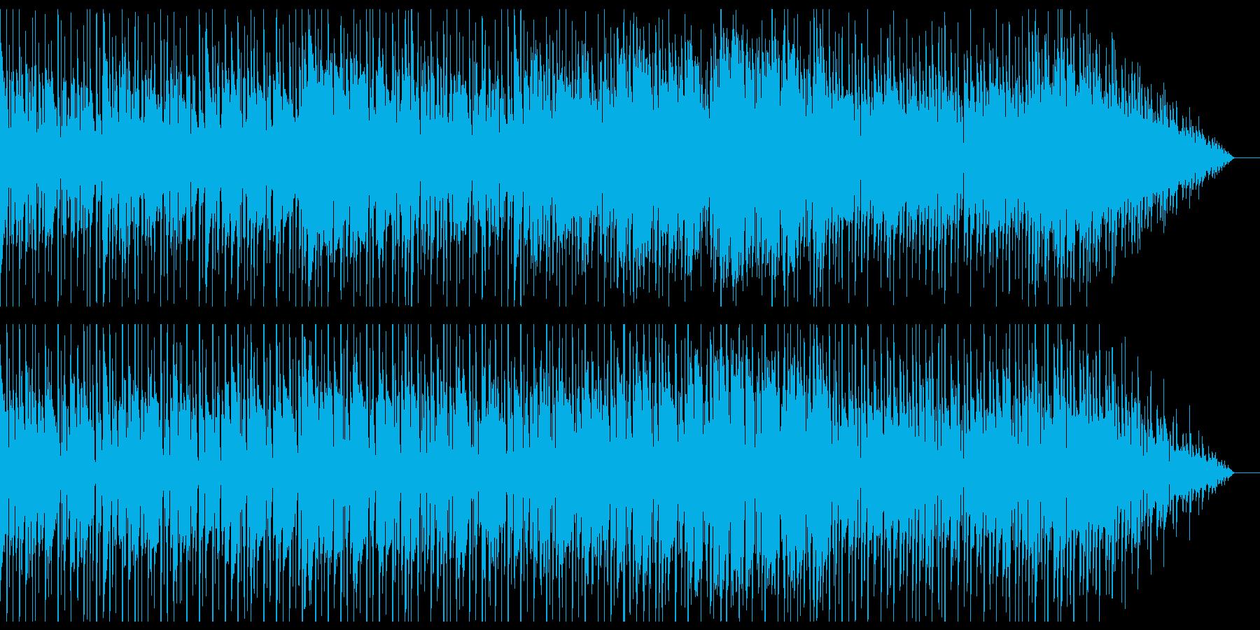 シンプルなバンドロックサウンドの再生済みの波形