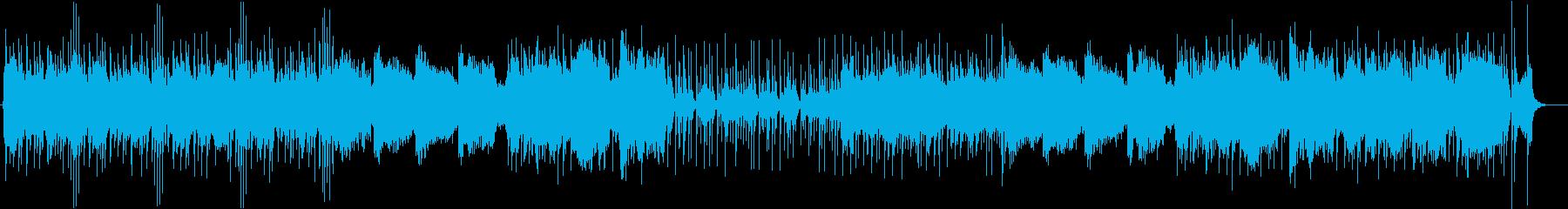 三味線と尺八のクールな和風曲・リズム抜きの再生済みの波形