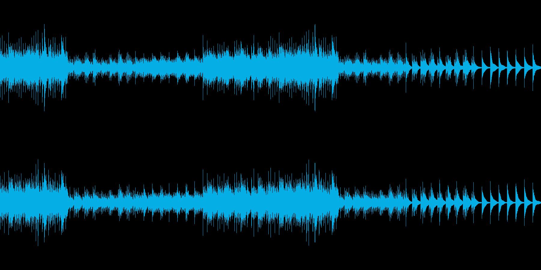 結婚式の映像用バラード (ループ仕様)の再生済みの波形