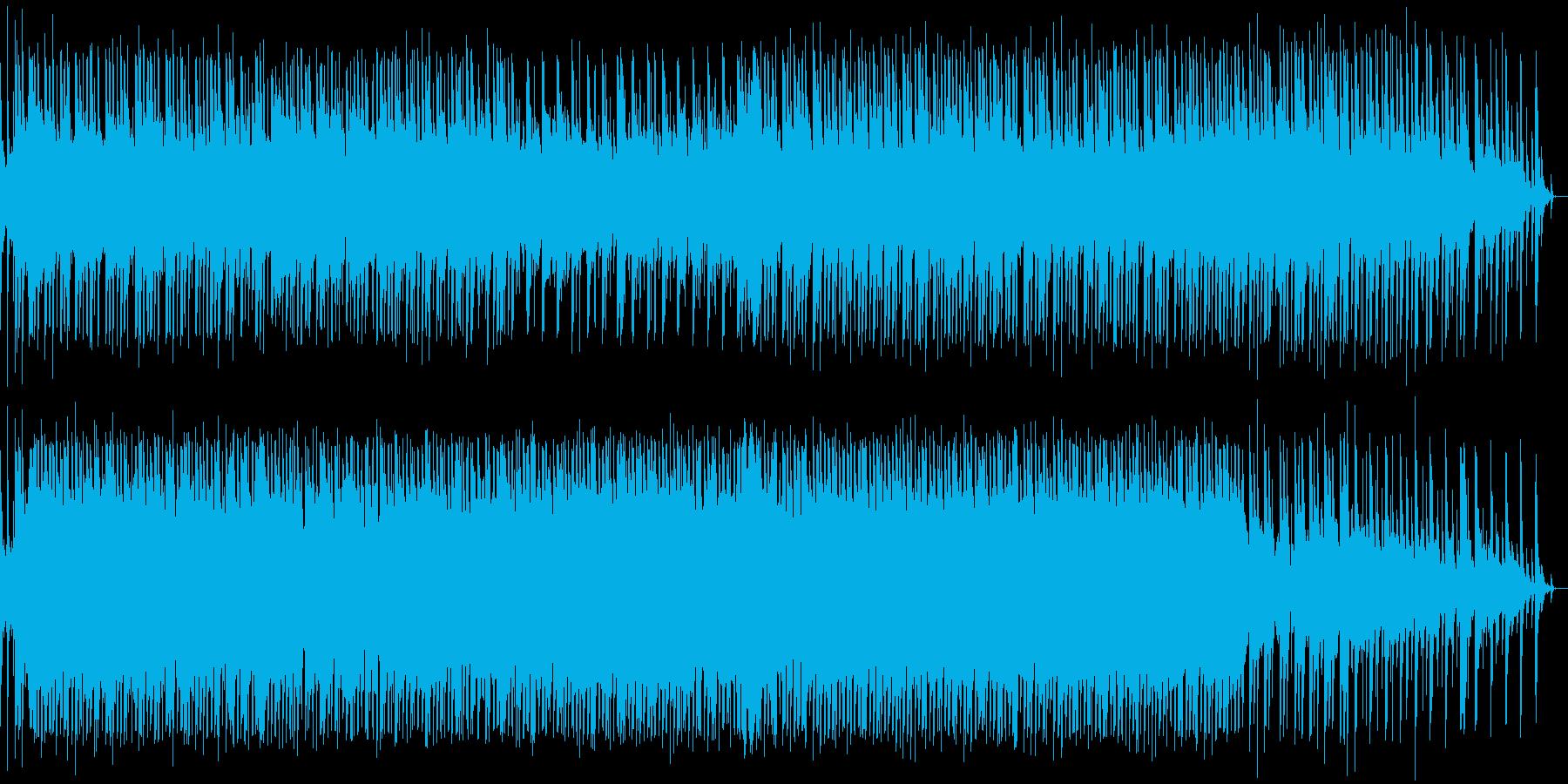 やさしいカントリーフォークの再生済みの波形