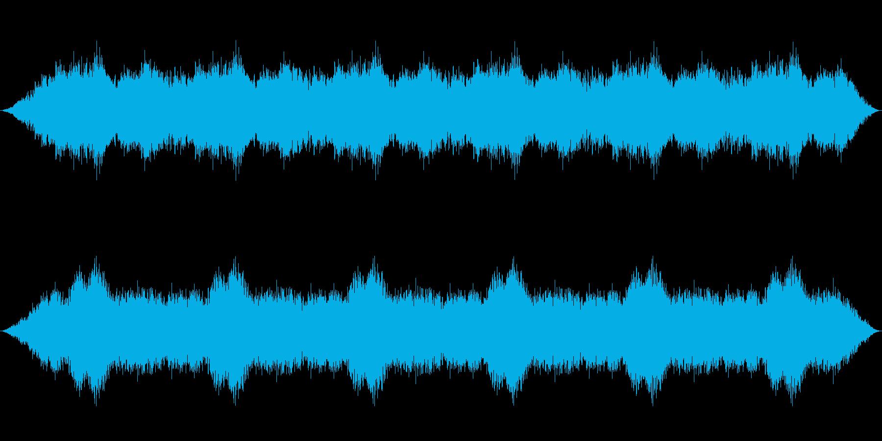 腐海の森の環境音楽の再生済みの波形