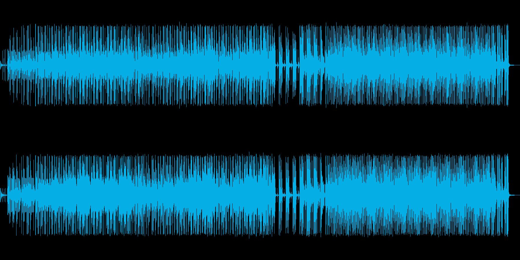 シンプルで軽快なピアノポップスの再生済みの波形