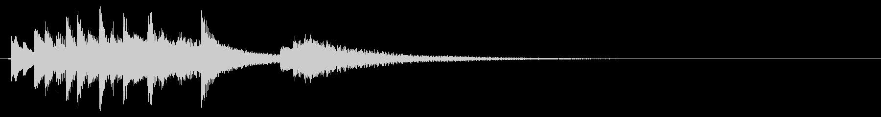 琴のフレーズ4☆調律2の未再生の波形