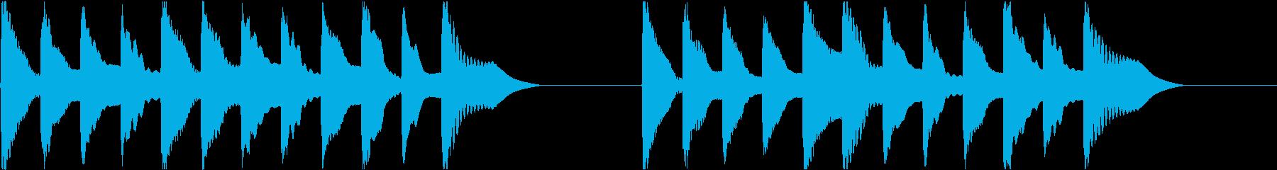 着信音 ループ お知らせ 通知 6の再生済みの波形