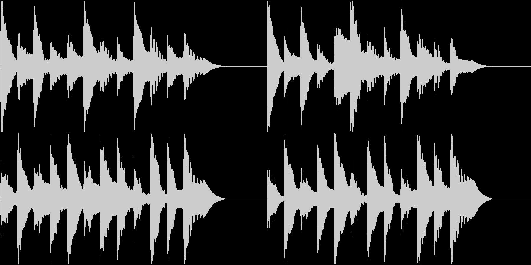 着信音 ループ お知らせ 通知 6の未再生の波形