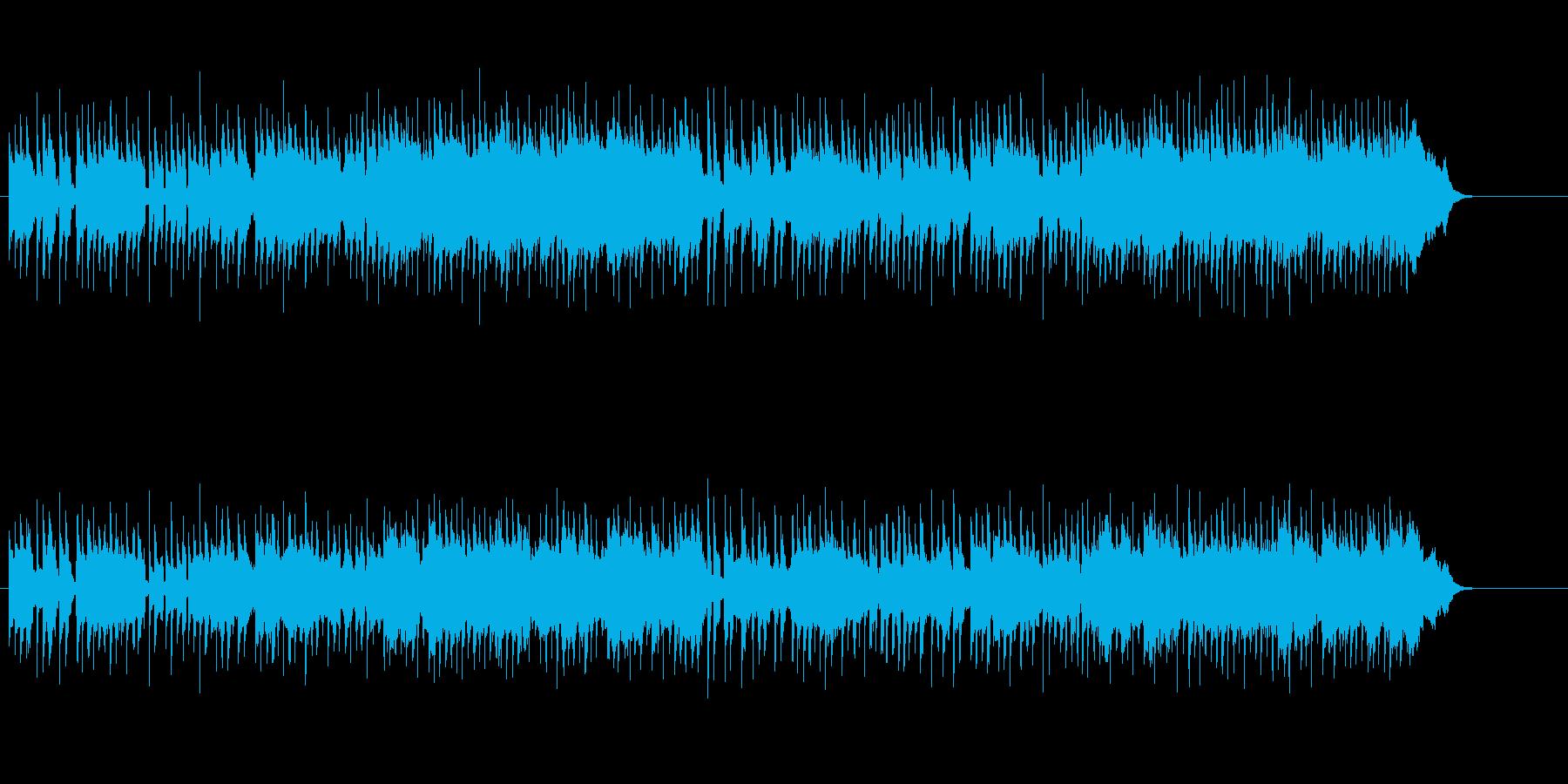 キャッチーで軽快なニューミュージックの再生済みの波形