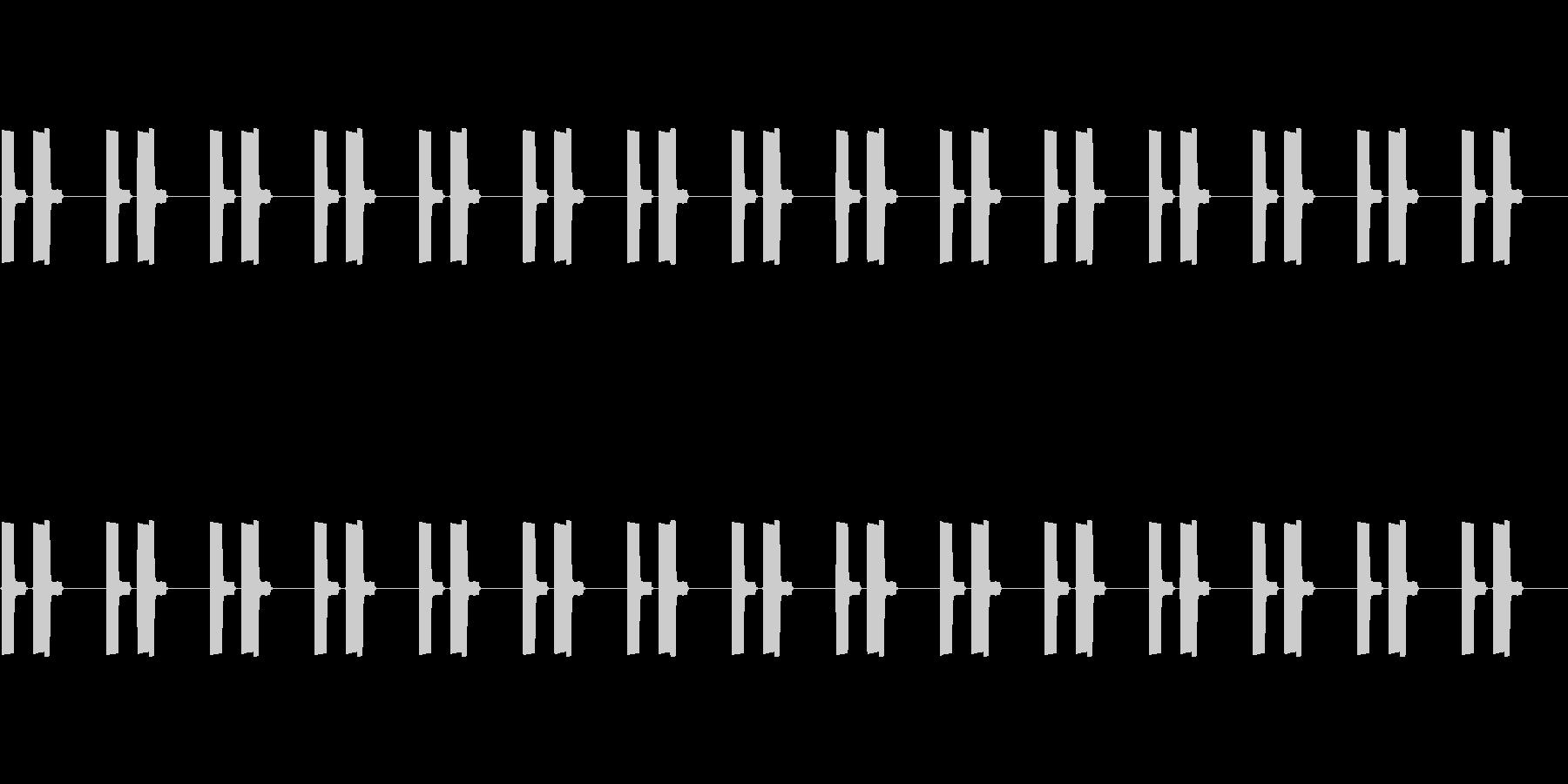 【効果音】信号機_かっこうの未再生の波形