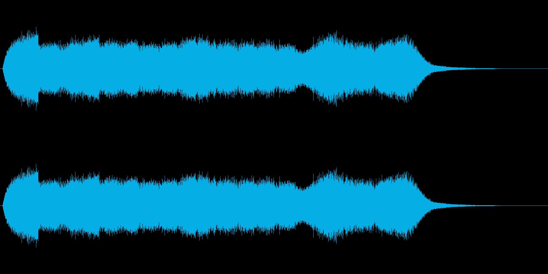 ノイズ、環境音、SFの再生済みの波形
