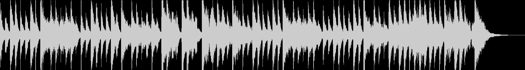 ピアノメインの古典的なジャズ CM用の未再生の波形