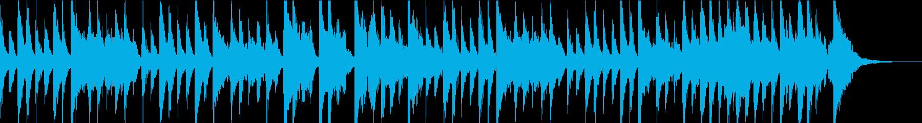 ピアノメインの古典的なジャズ CM用の再生済みの波形