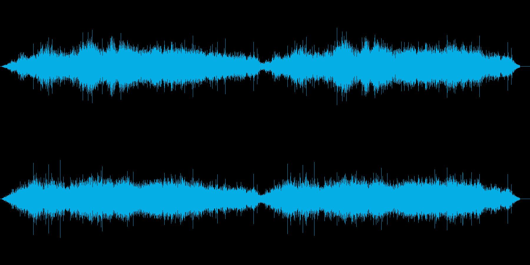 手持ち花火の音 シュシュシュシュシュの再生済みの波形