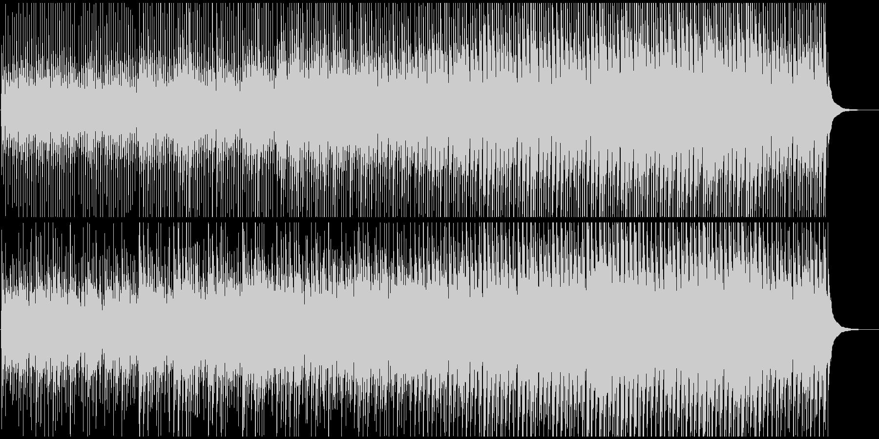 かわいいマーチ風アコースティックポップの未再生の波形