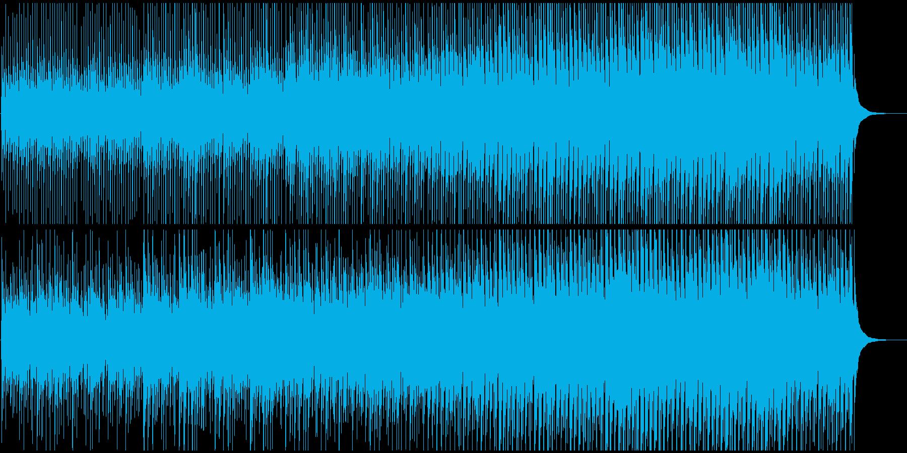 かわいいマーチ風アコースティックポップの再生済みの波形