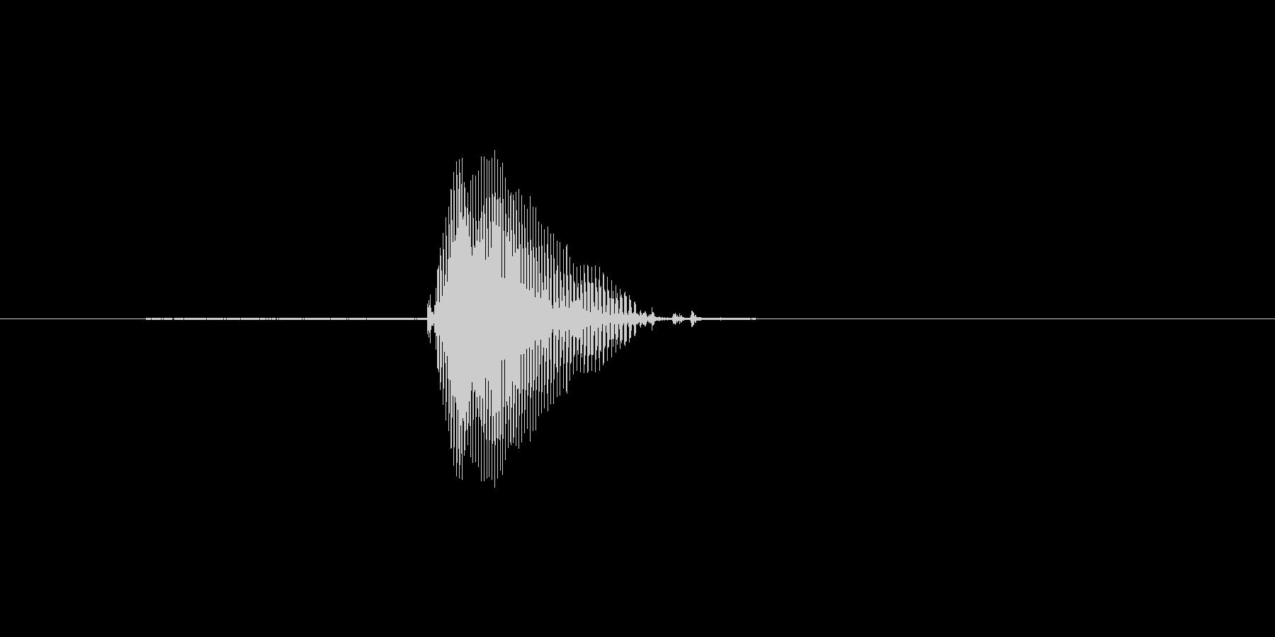 10(てん)の未再生の波形