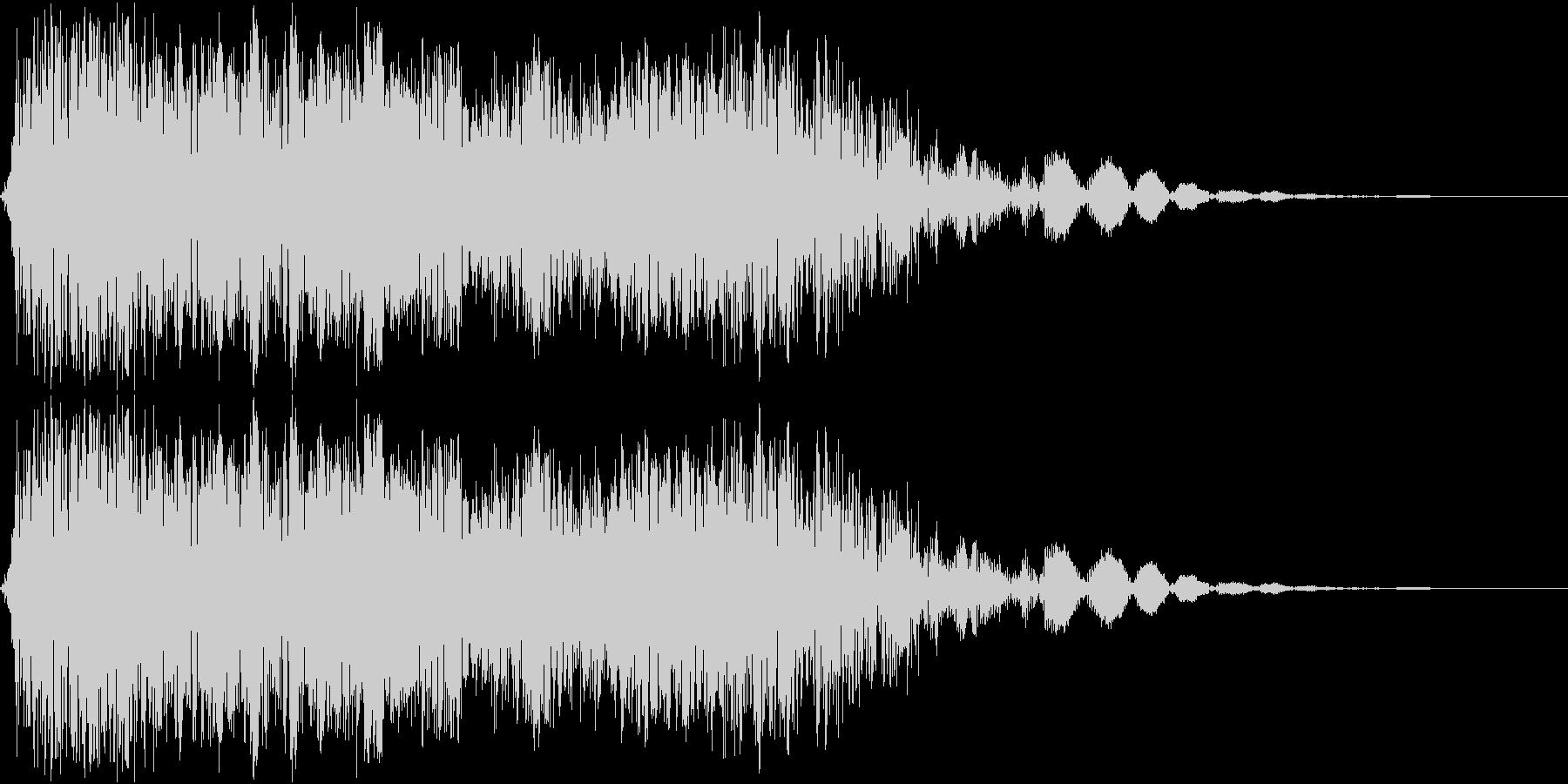 強力な斬撃_インパクト系の音ですの未再生の波形