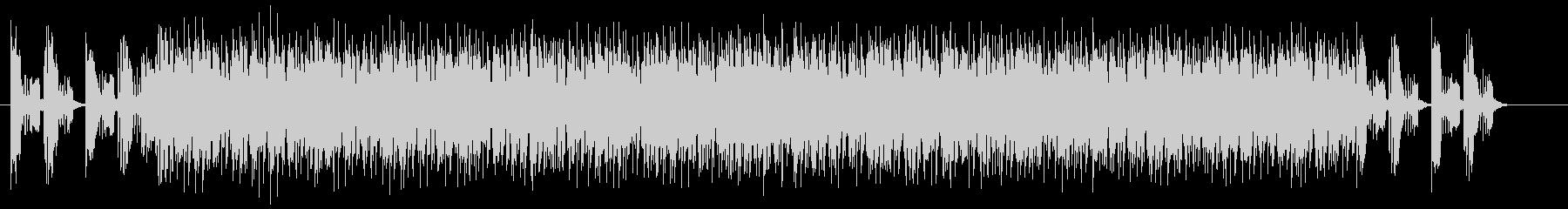 疾走感と勢いのシンセギターサウンドの未再生の波形