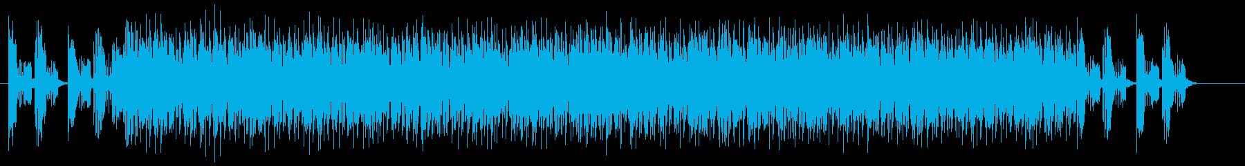 疾走感と勢いのシンセギターサウンドの再生済みの波形