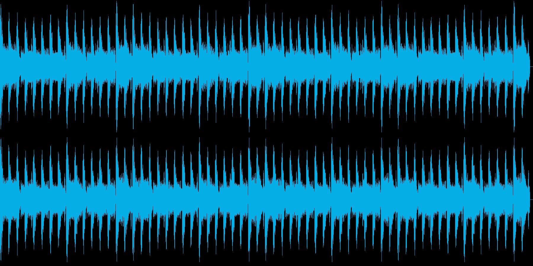 ピアノがクールなEDMの再生済みの波形