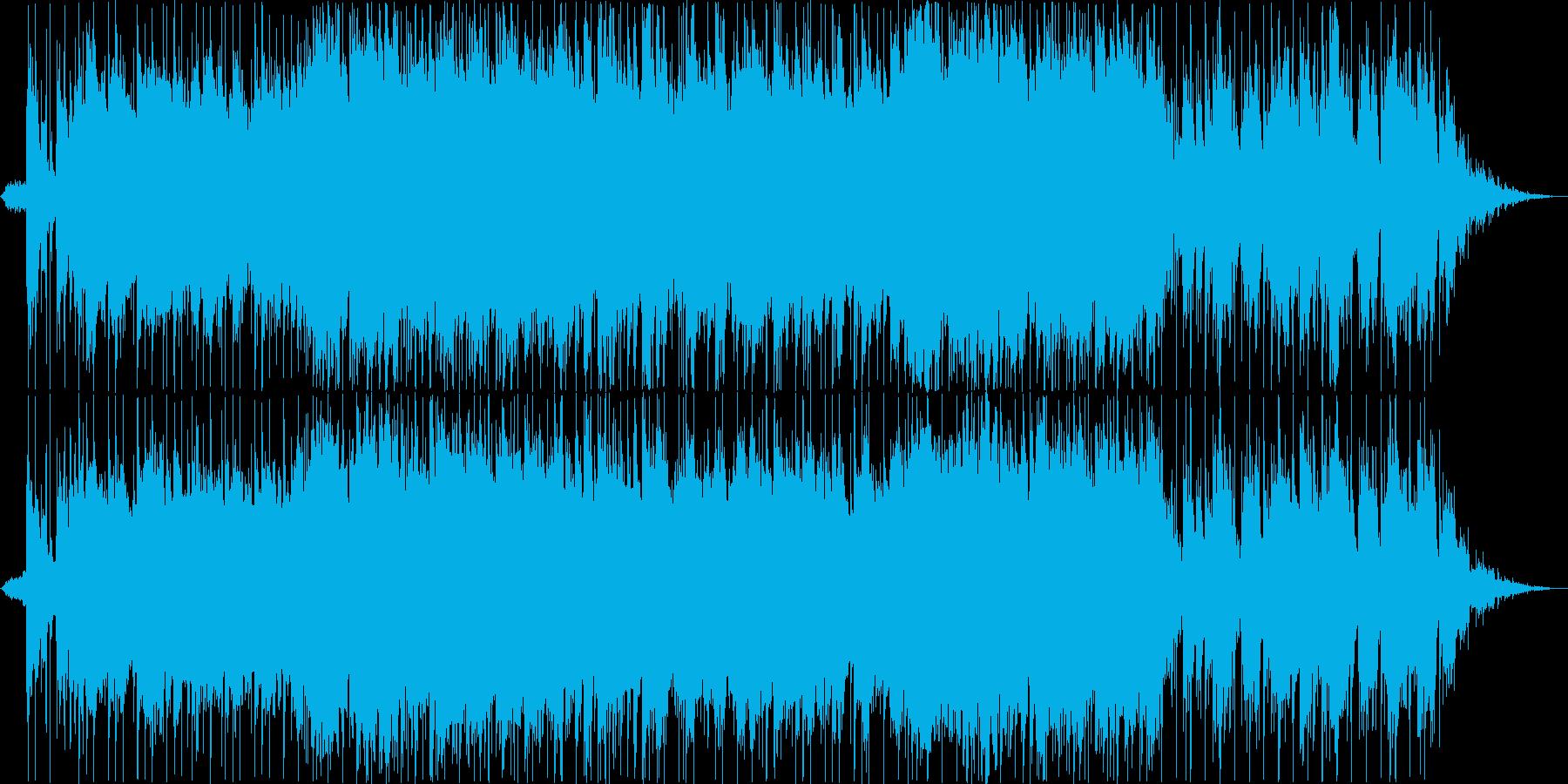 ダニーボーイのバンドアレンジ版の再生済みの波形