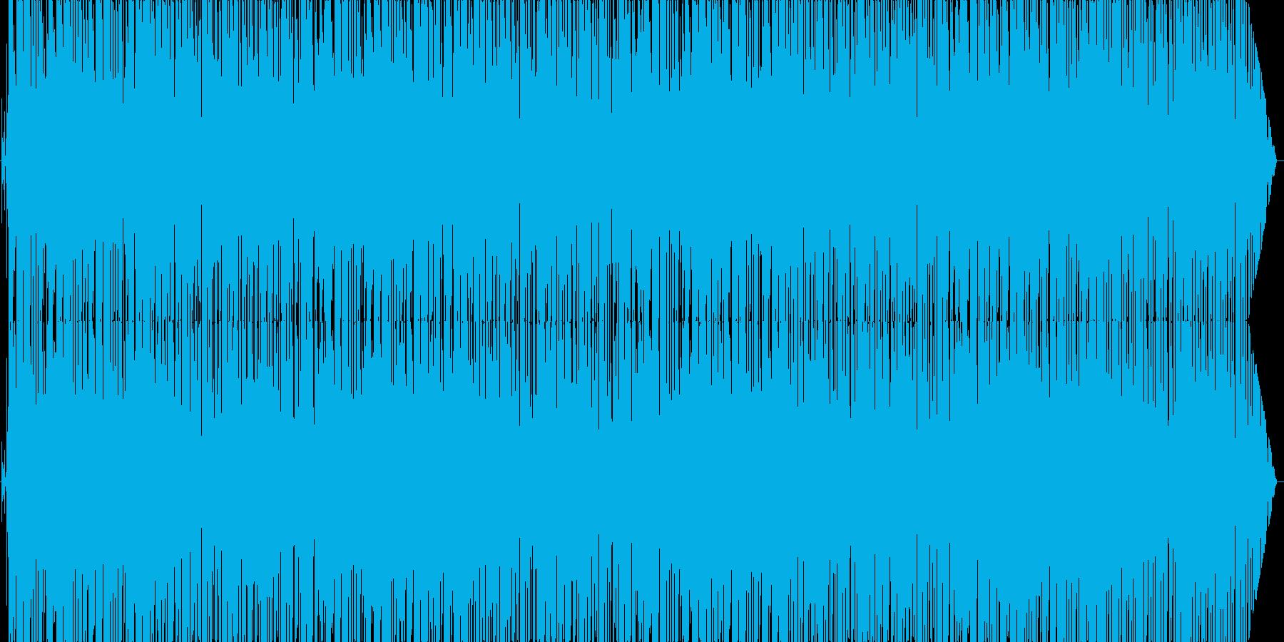 ラジオ番組風テーマソングの再生済みの波形