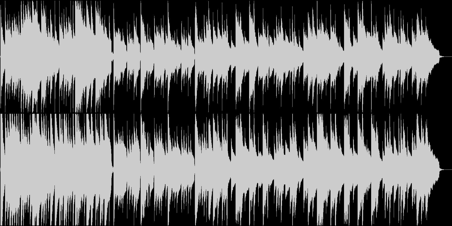 優しくて穏やかなアコギソロの未再生の波形