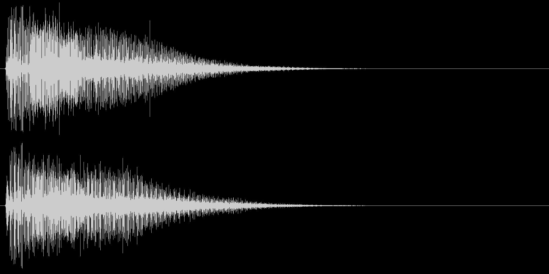 ライトセーバーを抜く音 光剣 レーザーの未再生の波形