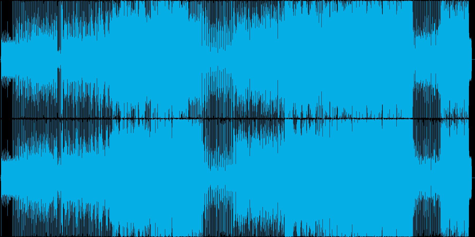 生演奏。切ない系8ビートギターロックの再生済みの波形